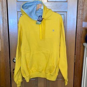 NEW Champion Cotton Max Hooded Sweatshirt